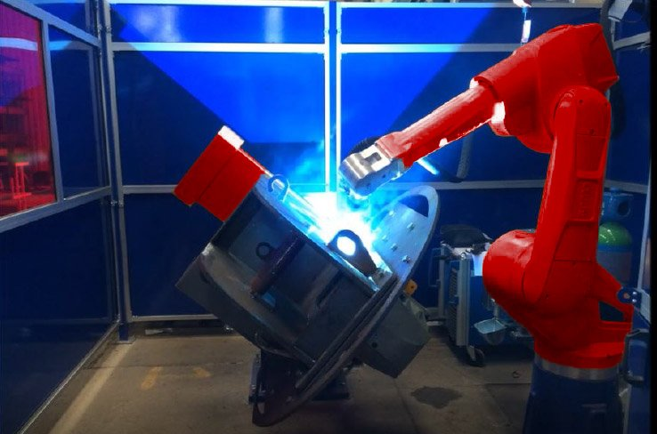 Welding Automation Equipment - Key Plant robotics powered by Cloos