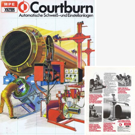 1956 Courtburn Welding history