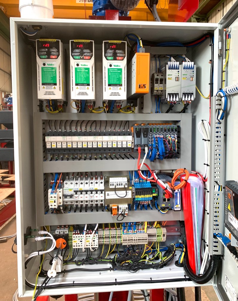 Electrics & Software automation system