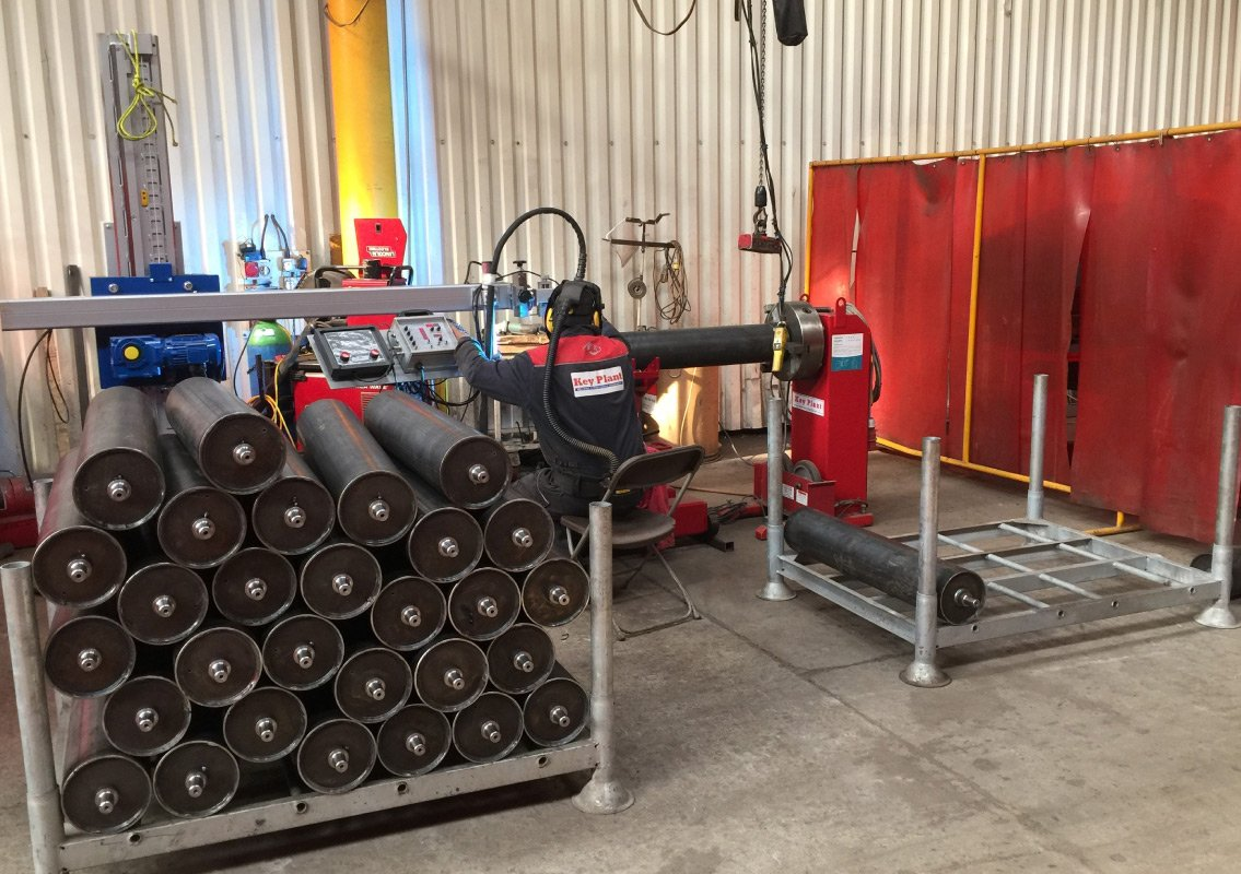 Coded welders in the fabrication process