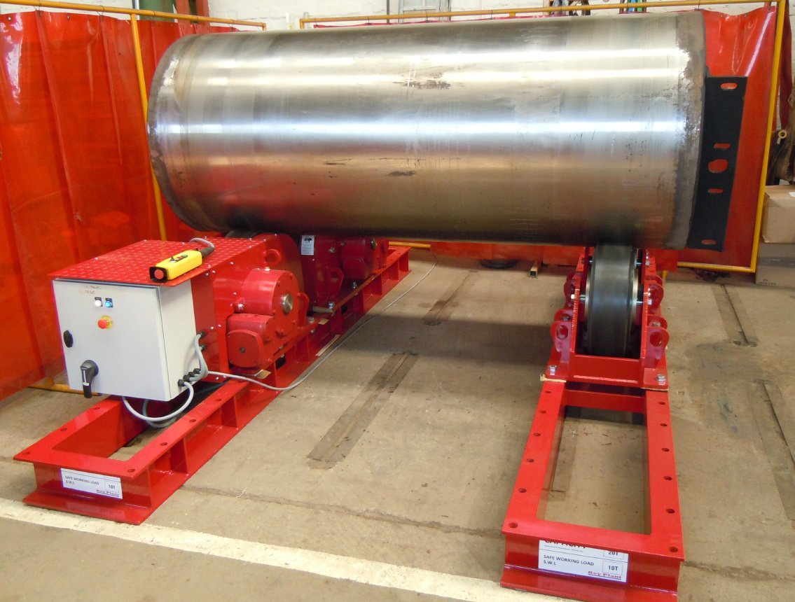 Rotator Turning Roll Load Testing