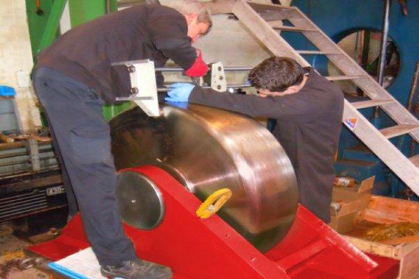 Rotator Wheel Material Hardness Testing process