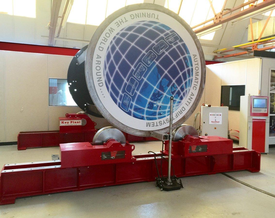 R&D Weld Centre Anti-drift rotator