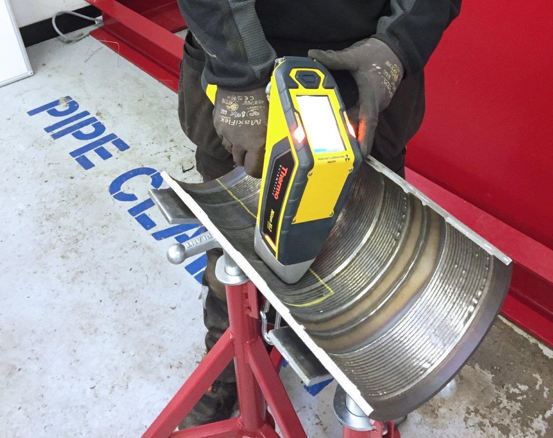 R&D Weld Centre pipe preparation