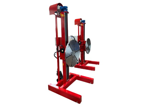 pipe production manufacture head and tailstock
