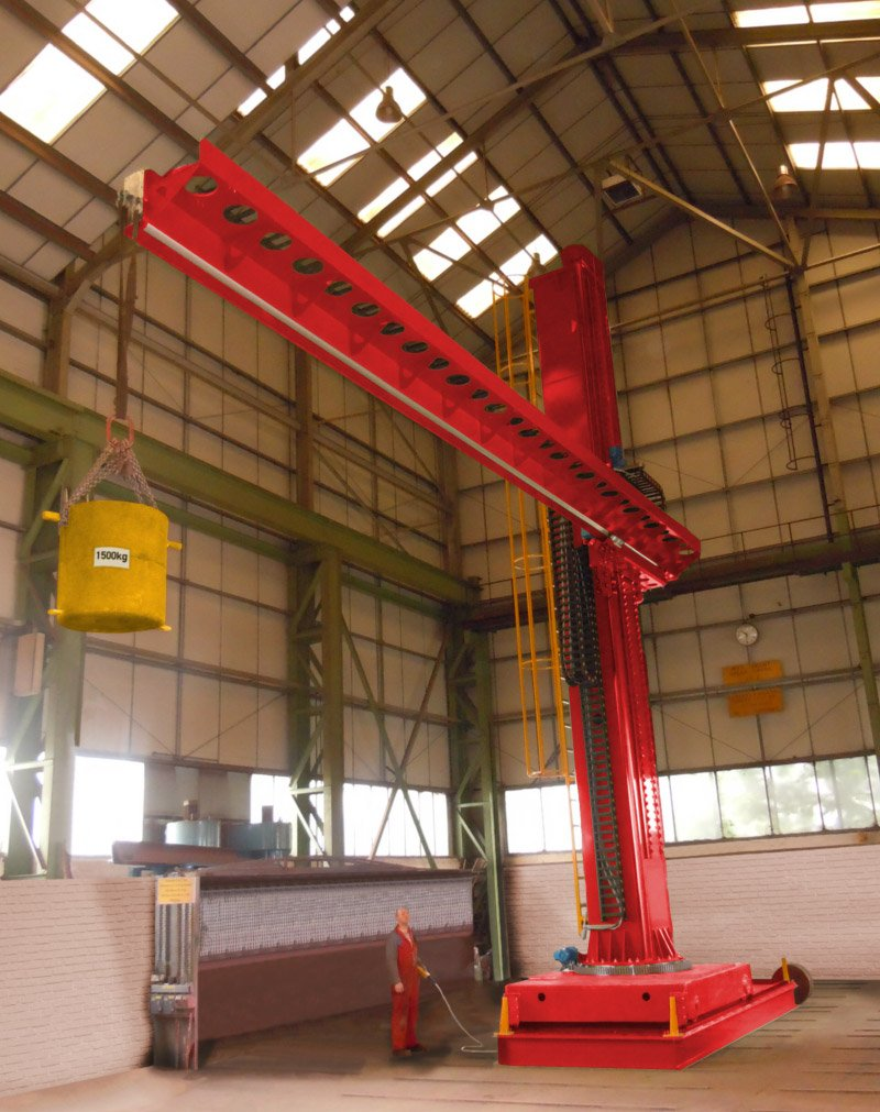 Column & boom Load Testing